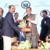 Doctor Felicitating Governor