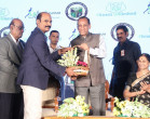 Doctor Felicitating Governor